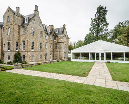 Marquee Catering in Edinburgh and East Lothian